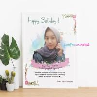 Art Frame Murah Uk.6R (Hadiah Wisuda,ulang tahun,wedding,dll)