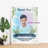 Art Frame 5R Murah (Hadiah Wisuda, Ulang tahun, newborn, wedding, dll)