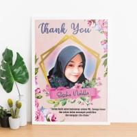 Art Frame A4 Murah (Hadiah wisuda,ulang tahun,wedding,newborn,dll)
