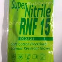 Sarung Tangan Karet / Kimia / Medis Rubberex Super Nitrile / Nitrille