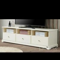 meja tv rak tv bufet tv minimalis customize finishing duco