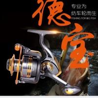 FISHING REEL GULUNGAN METAL FISHING SPIN 10 BEARING BAL RIL PANCINGAN