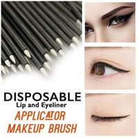 Disposable Eyeliner and Lip Brush/Kuas Eyeliner/Eyeliner Brush 50 Pcs