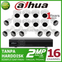 PAKET CCTV DAHUA 2MP 16 CHANNEL NO HDD