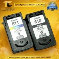 Catridge canon PG810 & CL811 Kosongan 1 SET printer ip 2770 MP 23