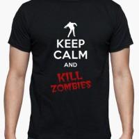 Kaos Kill Zombies T-Shirt