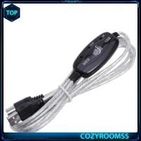 Kabel Adaptor Konverter USB ke MIDI untuk Keyboard Musik