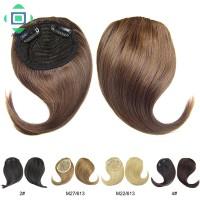 Clip-in Hair Bangs Fringe Hair Extensions Swept Full Sweeping Side