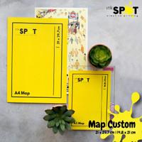 Cetak Custom Stopmap (MAP) A5 & A4