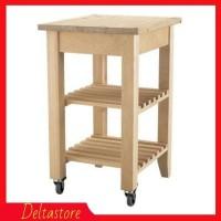 PROMO SALE IKEA BEKVAM Troli Dapur 58x50 cm - Kayu birch Limited