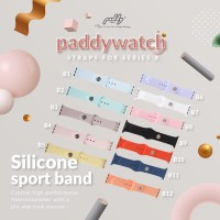 Silicone Sport Band ( Untuk Paddywatch Series X)