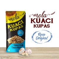 Kuaci Kupas Rasa Original- Mola Kuaci Snack Sehat 4 Rasa