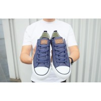 SEPATU LUCKY STAR SIERRA LOW NAVY WHITE // UKURAN 40 - 38