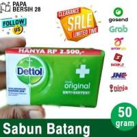 hoot sale Sabun Mandi Batang Dettol Original 50 Gram Exp Okt 2020