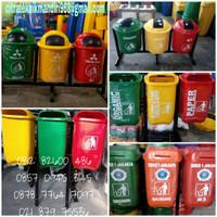 Tempat Tong Sampah Organik An organik B3 Vol-50liter