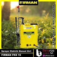 Firman FKS 16 S FKS16s Sprayer Electrik Manual 2in1 Alat Semprot Hama