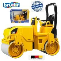 Bruder 02433 Cat® Asphalt Drum Compactor Made in Germany