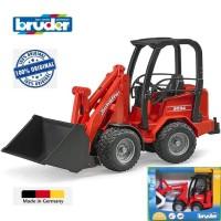 Bruder 02190 Schaffer Compact Loader 2630 Excavator Made in Germany