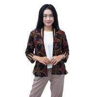 Batik Wanita Atasan Batik Blouse Bolero Size S - 5L JUMBO