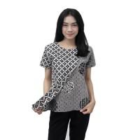 Batik Wanita Blouse Atasan Batik Modern Size S - 5L JUMBO