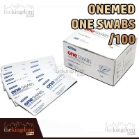 OneMed One Swabs /100 Tissue Tisu Medis Steril Alcohol Pembersih