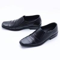 Sepatu Pantopel Pria Formal Kerja Murah Kulit Asli Sol Karet E705