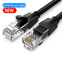 Vention [IBA 30M] Kabel Lan RJ45 Cat6 Cat.6 Flat Gigabit UTP - Bulat IBE