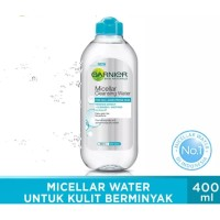 Garnier Micellar Water Blue Skin Care - 400 ml - Kulit Berjerawat