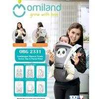 Gendongan Hipseat Bayi Omiland Panda Series OBG 2331