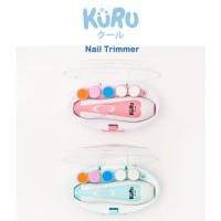 KURU Baby Nail Trimmer Electric Alat Kikir Gunting Kuku Bayi Elektrik