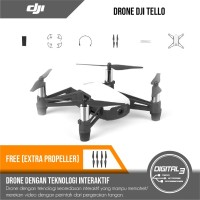 DJI Tello Drone Ryze Garansi Resmi Bonus