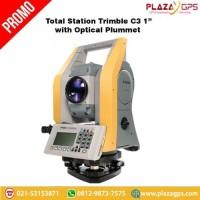 "Trimble C3 1"" Total Station With Optical Plummet"