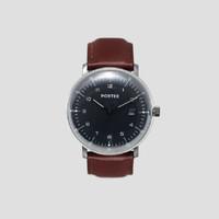 Portee Goods jam tangan pria MARQUE COSMOS BLACK