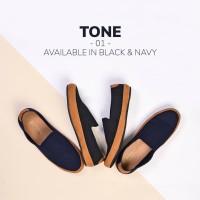 REYL TONE 0.1 | Sepatu Slip On Pria Sepatu Kulit Pria Selop Cowok Ori