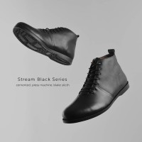 REYL STREAM BOOTS | Sepatu Boots Pria Sepatu Kulit Asli Pria Cowok Ori