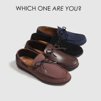 REYL LICK 0.1 | Sepatu Slip On Pria Sepatu Kulit Pria Selop Cowok Ori