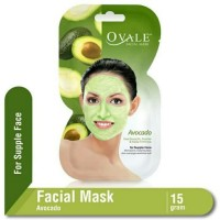 Masker Wajah Ovale Facial Mask Avocado 15gr