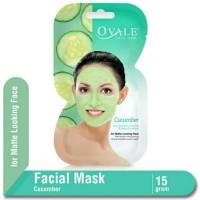 Masker Wajah Ovale Facial Mask Cucumber 15gr