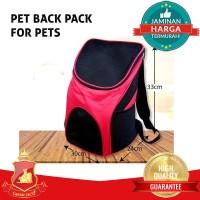 Pet Back Pack / Tas Ransel Carrier Cargo Anjing Kucing Hewan