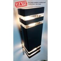 LAMPU HIAS DINDING MINIMALIS/ WALL LAMP/ LAMPU OUTDOOR/ LAMPU TAMAN