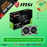 MSI GeForce GTX 1660 Super Ventus XS OC 6GB GDDR6 - GTX1660 Super