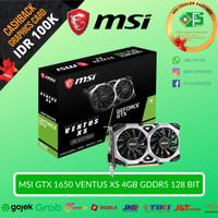 MSI GeForce GTX 1650 Ventus XS 4G OC - 4GB GDDR5