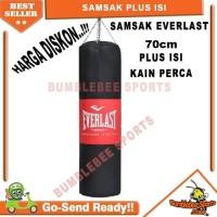 Samsak Junior 70cm Plus Isi Sansak Muay Thai - Tinju Muaythai MMA