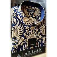 ALISAN Kemeja Batik Lengan Pendek Reguler - Jumbo Size - 0601