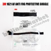 3M 1621 AF Safety Goggle ANTI FOG Kacamata Goggle Lab 3M 1621AF