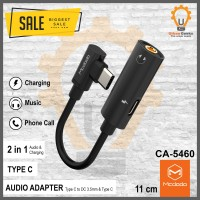 Mcdodo Audio Adapter Type-c to Type-c and DC3.5mm cable