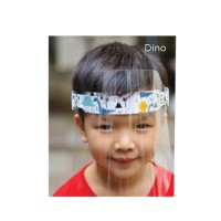 Dino Face Shield Kids (Pelindung Wajah Anak)
