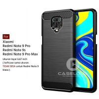 Case Xiaomi Redmi Note 9 Pro Note 9s Max Softcase iPAKY Carbon