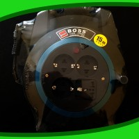 Box Kabel Roll 15 Meter + Lampu Victoria Boss Turbo