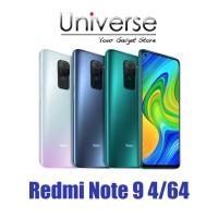 Xiaomi Redmi Note 9 4/64 GB - Garansi Resmi Xiaomi Indonesia